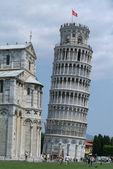 Toscany 的比萨斜的塔 — 图库照片