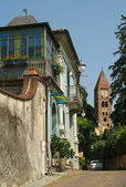 City streets of Rivoli on Piemonte, Italy — Stock Photo