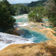 The waterfalls of Agua Azul - Stock Photo