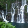 Les Langevin waterfall on Reunion island - Stock Photo