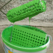 Stock Photo: Bucket with paint