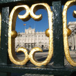 Real palace at Madrid, Spain -  