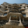 Antonio Gaudi s famous Casa Mila - Stock Photo