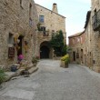 The old village of Pals on Costa Brava, Spain — Stock Photo