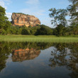 Palace of Sigiriya on Sri Lanka, - Stockfoto