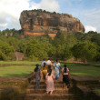 Palace of Sigiriya on Sri Lanka - Stock Photo