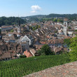 Old town of Schaffhausen on Switzerland. - Stock Photo