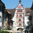 Old village of Stein am Rhein on Switzerland — Stock Photo