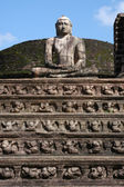 Alte Vatadage vom 12. Centory in Polonnaruwa auf Sri lanka — Stockfoto