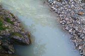 Alpine river — Stock Photo
