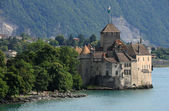 The Chillon castle in Montreux — Stock Photo