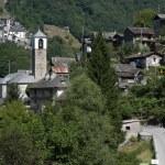 ������, ������: Villages of San Bartolomeo and Corippo on Verzasca valley