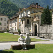 Village of Cevio on Maggia valley - Foto Stock