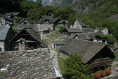 Village of Foroglio on Bavona valley — Stock Photo