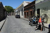 The streets of the colonial city of Colonia del Sacramento, Uruguay — Stock Photo
