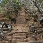Khmer archaeological site of Wat Phu Champasak, Laos — Stock Photo #18137259
