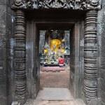 Khmer archaeological site of Wat Phu Champasak, Laos — Stock Photo #18137539