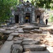 Khmer archaeological site of Wat Phu Champasak, Laos — Stock Photo