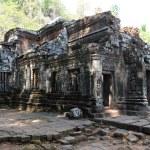 Khmer archaeological site of Wat Phu Champasak, Laos — Stock Photo
