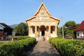 Buddhist temple in Champasak Laos — Stock Photo