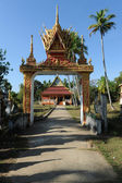 The pagoda of Wat Khon Tai island of Don Khon, Laos — Zdjęcie stockowe