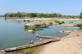 Mekong River at Don Khong in Laos — Stock Photo