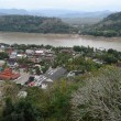 View of Luang Prabang in Laos — Foto de Stock