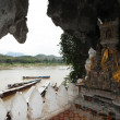 Buddha- statues, Pak Ou Caves, Laos — Stock Photo