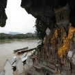 Stock Photo: Buddha- statues, Pak Ou Caves, Laos