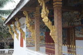 Temple in Luang Prabang Royal Palace Museum, Laos. — Stock Photo