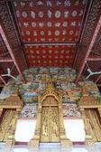 Templet i luang prabang royal palace museum, laos. — Stockfoto