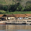 Bank of river Mekong on Laos - Stock Photo