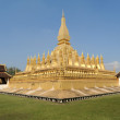 Stupa Pha That Luang in Vientiane capital of Laos — Stock Photo