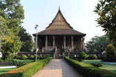 Museum of Ho Phra Keo at Vientiane on Laos — Stock Photo