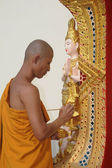 Statue at Wat Phra That Doi Suthep temple in Thailand — Stockfoto