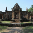 Khmer archaeological site of Prasat Muang Tam on Thailand — Stock Photo