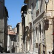 Street of Arles in France — Stock Photo