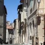 Street of Arles in France — Stock Photo