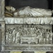 Tombstone in the Papal Palace in Avignon in France - Stock Photo