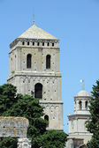 Church towers of Arles in France — Stock Photo