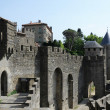 The Citadel of Carcassonne on France — Stock Photo