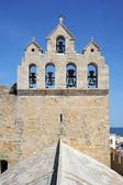 La iglesia de saintes-maries de la mer en la camarga — Foto de Stock
