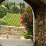 Rural landscape at Le Castellet on France — Stock Photo