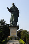 Giant Statue of Saint Charles Borromeo in Arona, Italy — Stock fotografie