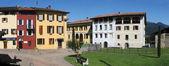 The village of Viglio on the italian part of Switzerland — Stock Photo