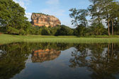 Archaeological site of Sigiriya on Sri Lanka, Unesco world heritage — Stock Photo