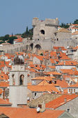 View of the town of Dubrovnik — Foto Stock