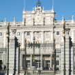 Palacio Real on Armeria Square at Madrid, Spain — Stock Photo