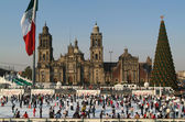 Mexico, Mexico City, Zocalo — Stock Photo