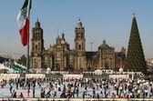 Mexico, Mexico City, Zocalo — Stock Photo